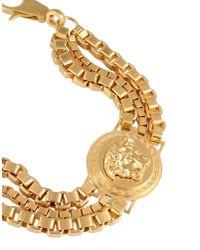 Versace - Metallic Bracelet - Lyst