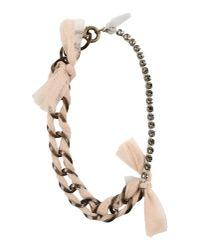 Lanvin - Natural Necklace - Lyst