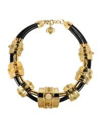 Francesco Scognamiglio - Black Necklace - Lyst