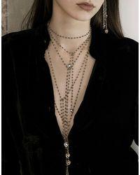 PAOLA GRANDE | Metallic Necklace | Lyst