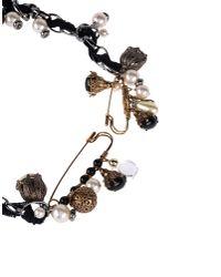 Dolce & Gabbana - Black Necklace - Lyst