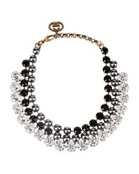 Gucci - Black Necklace - Lyst