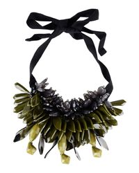 P.A.R.O.S.H. - Green 'ossyne' Necklace - Lyst