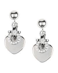 Ferragamo - Metallic Earrings - Lyst