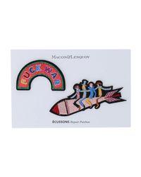 Macon & Lesquoy - Multicolor Brooch - Lyst