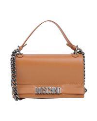 Moschino - Brown Cross-body Bag - Lyst