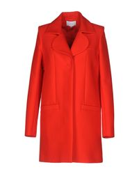 Carven - Red Coats - Lyst