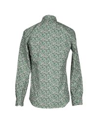 Fendi - Green Shirt for Men - Lyst