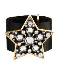 Lanvin - Black Bracelet - Lyst