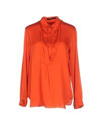 Sly010 | Orange Blouse | Lyst
