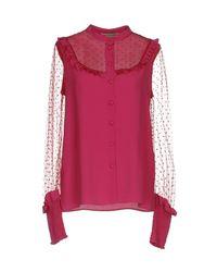 Piccione.piccione - Pink Shirt - Lyst