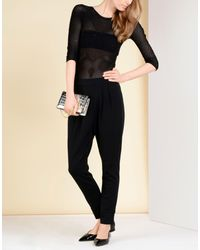 Wolford - Black Casual Trouser - Lyst