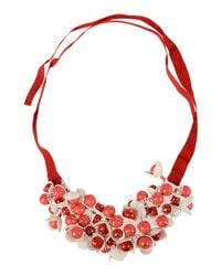 P.A.R.O.S.H. - Red Necklace - Lyst