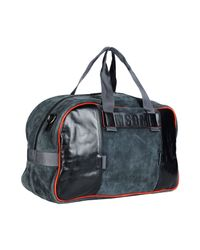 MSGM - Black Travel & Duffel Bag for Men - Lyst