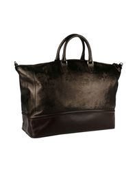 Emporio Armani - Brown Travel & Duffel Bag - Lyst