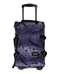 Eastpak | Blue Wheeled Luggage | Lyst