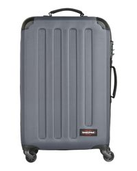 Eastpak   Gray Wheeled Luggage   Lyst