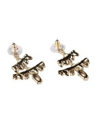 Alexis Bittar Metallic Earrings
