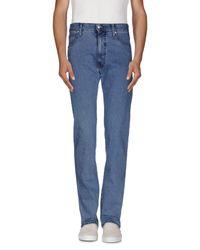 Armani Jeans Blue Denim Pants for men