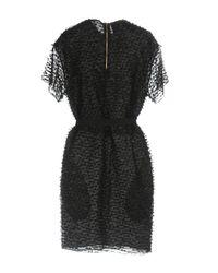 Rochas - Black Short Dress - Lyst