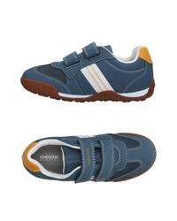 Geox - Blue Low-tops & Sneakers for Men - Lyst