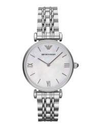 Emporio Armani | White Wrist Watch | Lyst
