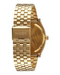 Nixon - Metallic Wrist Watch - Lyst