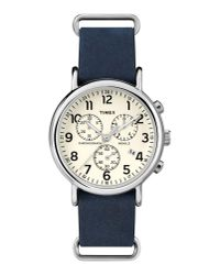 Timex | Blue Wrist Watch for Men | Lyst