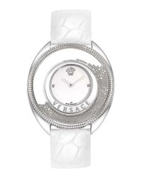 Versace - White Wrist Watch - Lyst