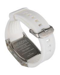 Nixon - White Wrist Watch - Lyst