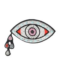 Macon & Lesquoy - White Brooch - Lyst
