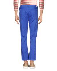 Mauro Grifoni - Blue Denim Trousers for Men - Lyst