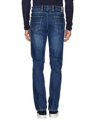 Barbati - Blue Denim Pants for Men - Lyst
