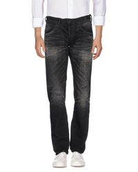 Mastercraft Union - Black Denim Trousers for Men - Lyst