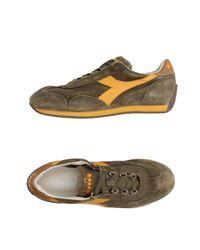 Diadora   Green Low-tops & Sneakers for Men   Lyst