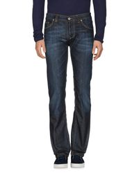 Dondup - Blue Denim Pants for Men - Lyst