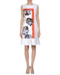 Dior - White Short Dress - Lyst