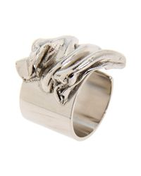 Tamara Akcay - Metallic Ring - Lyst