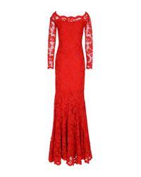 Balensi - Red Long Dress - Lyst