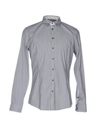 Liu Jo - Blue Shirt for Men - Lyst