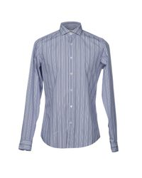 Guglielminotti - Blue Shirt for Men - Lyst