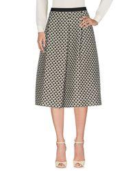Weekend by Maxmara Black 3/4 Length Skirt