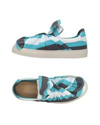 Ports 1961 Blue Low-tops & Sneakers