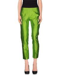 Blugirl Blumarine - Green Casual Trouser - Lyst