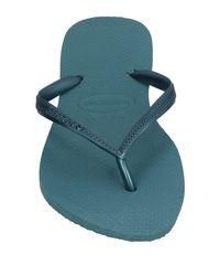 Havaianas - Blue Toe Strap Sandal - Lyst