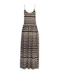 Woolrich - Brown Long Dress - Lyst