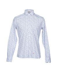 AT.P.CO - White Shirt for Men - Lyst