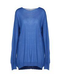 Balenciaga Blue Sweater