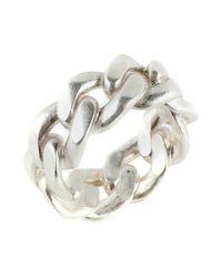 Maison Margiela - Metallic Ring for Men - Lyst