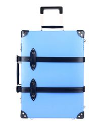Globe-Trotter - Blue Wheeled Luggage for Men - Lyst